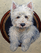 Enzie Shahmiri - West Highland Terrier Dog Portrait
